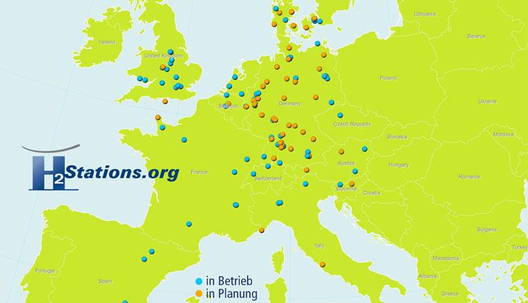 Weltweit 17 Neue Wasserstoff Tankstellen Im Jahr 2014