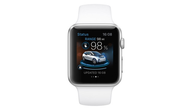 Apple BMW i Remote App 2