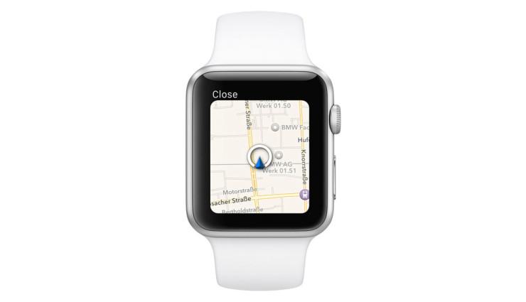 Apple BMW i Remote App 5