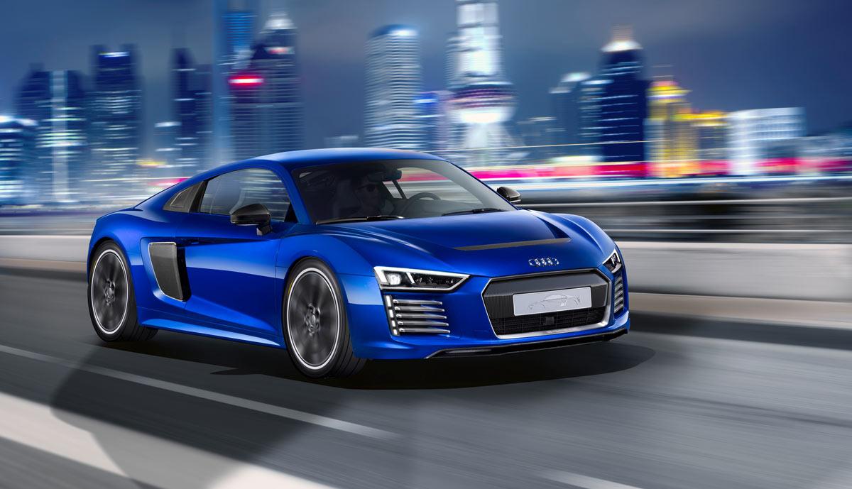 Audi R8 e-tron wird zum Roboterauto