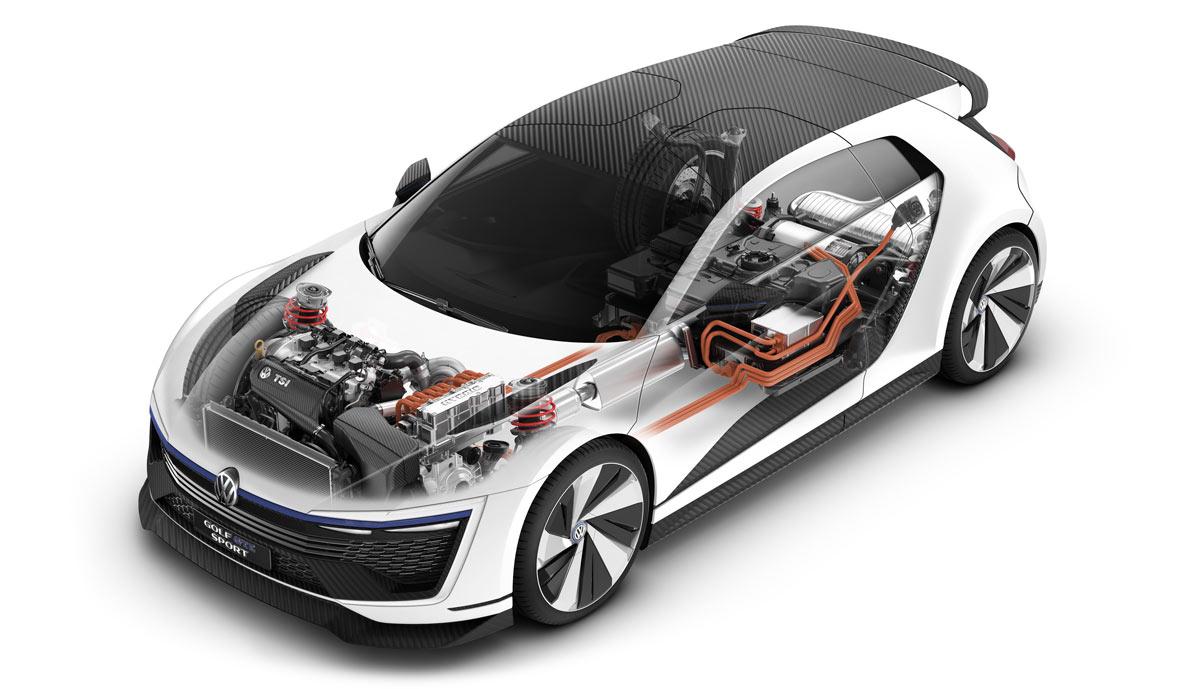 400 Ps Vw Stellt Plug In Hybrid Golf Gte Sport Vor