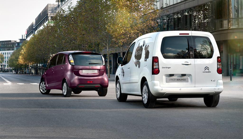 Peugeot-Citroen-Elektroauto