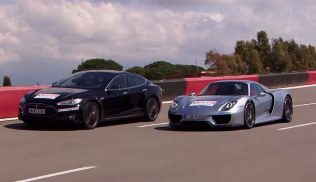 Tesla-Model-S-Test-Porsche-918-Spyder