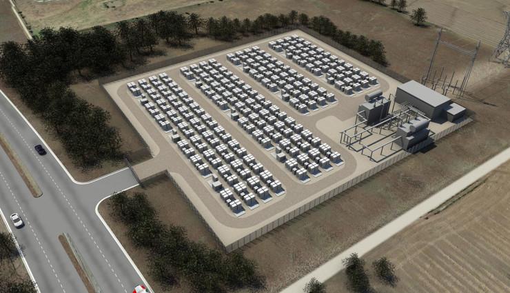 Tesla PowerWall Batterie-Speicher kommerziell