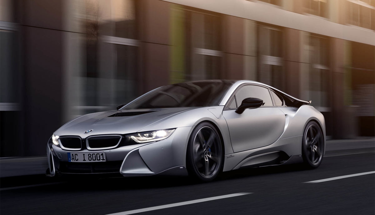 bmw i8 von ac schnitzer bilder video. Black Bedroom Furniture Sets. Home Design Ideas