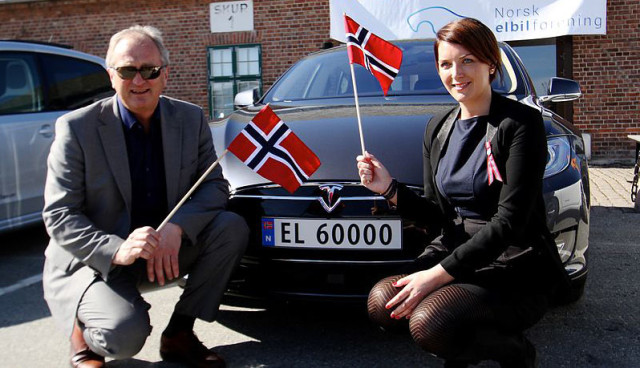 elektroauto foerderung norwegen 2015