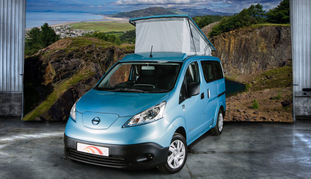 Elektroauto-Camping-Nisan-e-NV200