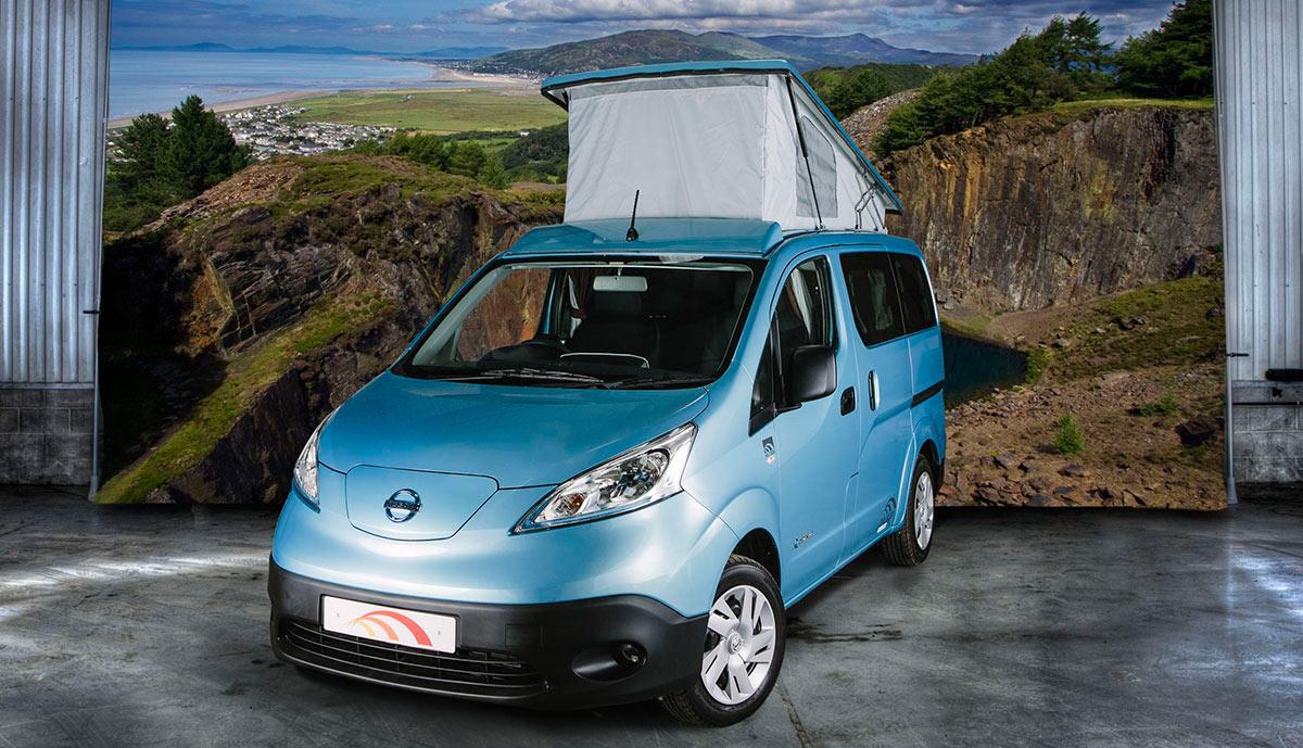 camping mit dem elektroauto zwei konzepte im test. Black Bedroom Furniture Sets. Home Design Ideas
