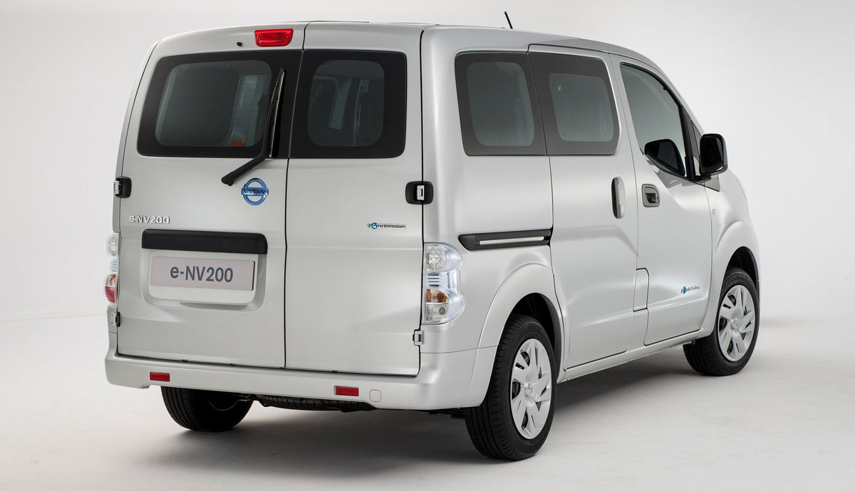 elektro transporter nissan e nv200 im test. Black Bedroom Furniture Sets. Home Design Ideas