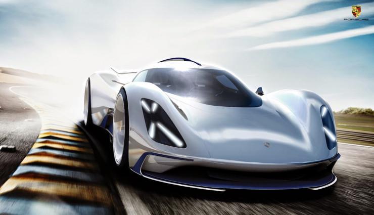 Porsche Elektroauto Rennwagen Le Mans 2035 – 3