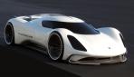 Porsche Elektroauto Rennwagen Le Mans 2035 - 7
