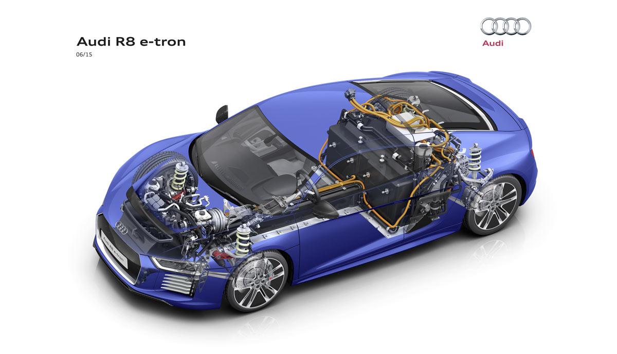 Sitzprobe Im Audi R8 E Tron Kofferraum Statt V10
