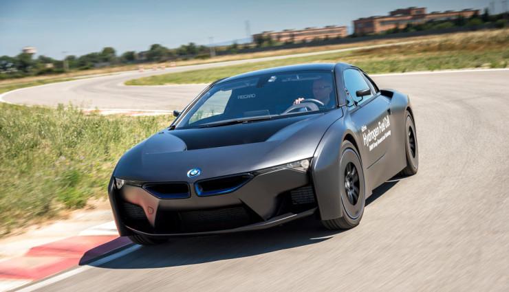 BMW i8 Wasserstoffauto 15