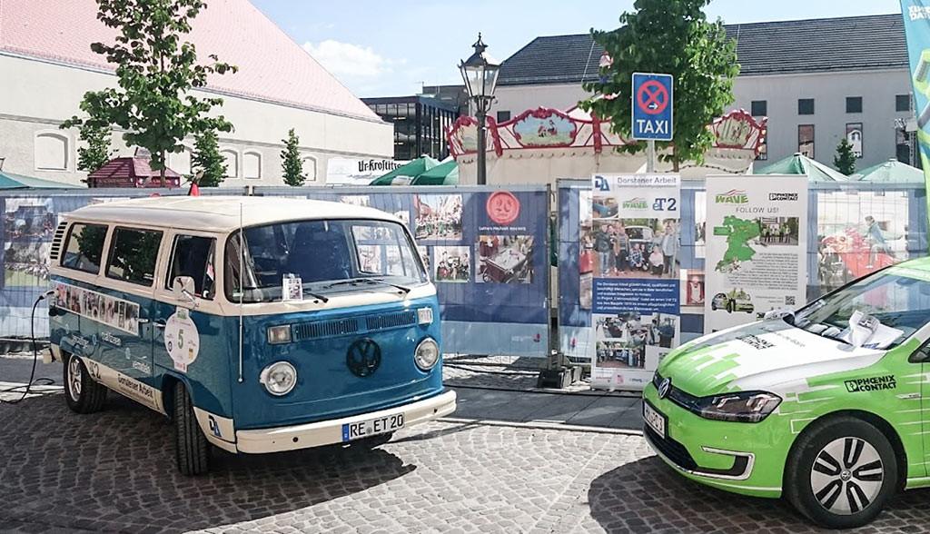 VW-Bulli-Elektroauto-Dorstener-Arbeit