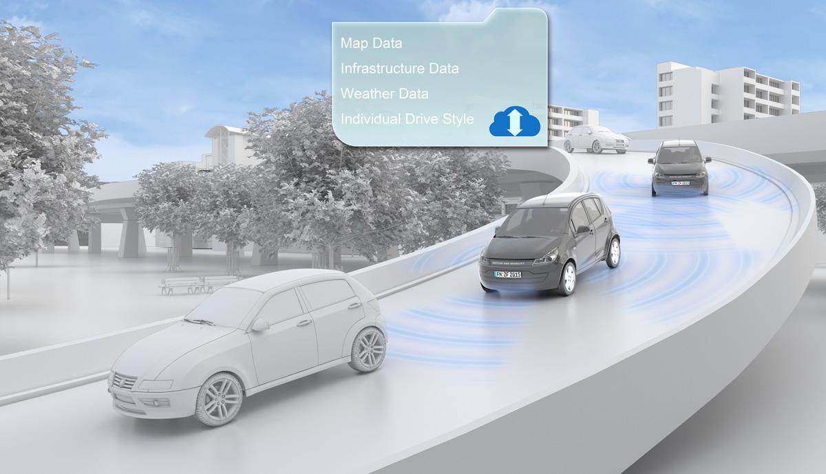 In der City ganz groß: Elektroauto ZF Smart Urban Vehicle