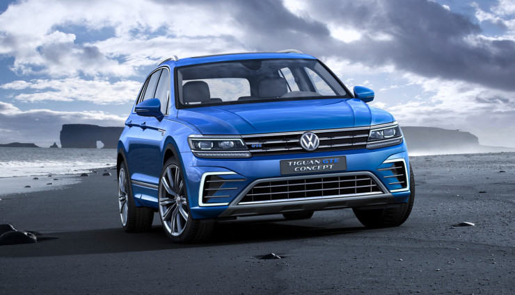 vw stellt plug in hybrid tiguan gte vor bilder. Black Bedroom Furniture Sets. Home Design Ideas