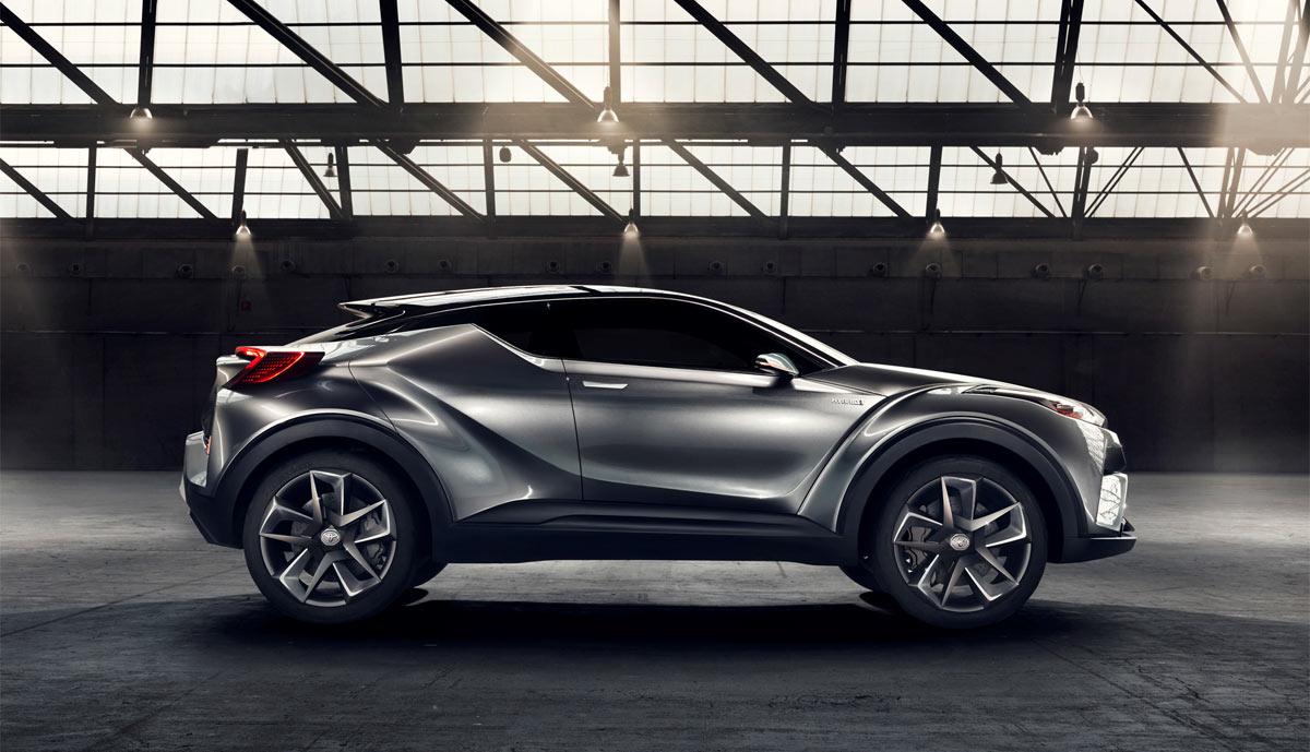 Toyota Crossover Hybrid C Hr Wird Gebaut Bilder