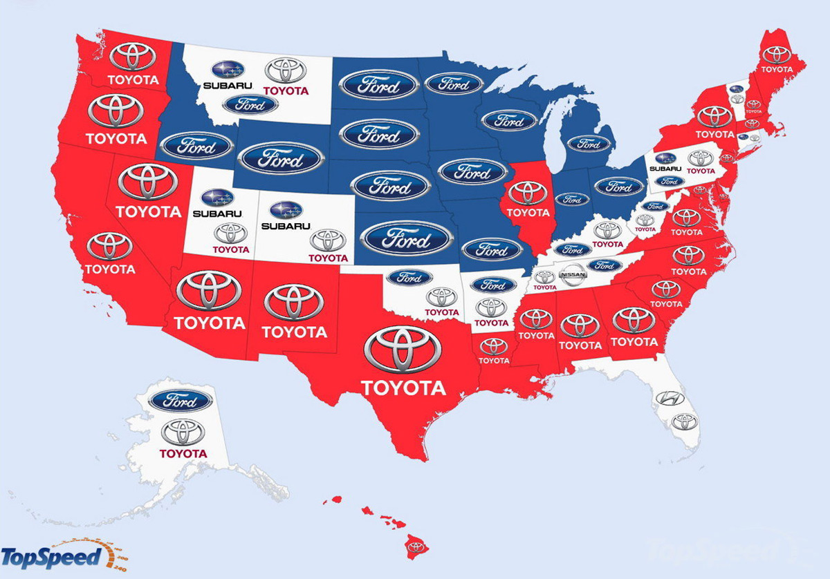 Top Ford Car Used In Usa