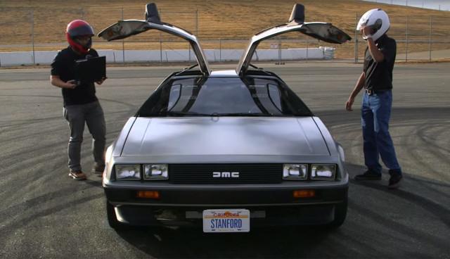 DeLorean-Elektroauto