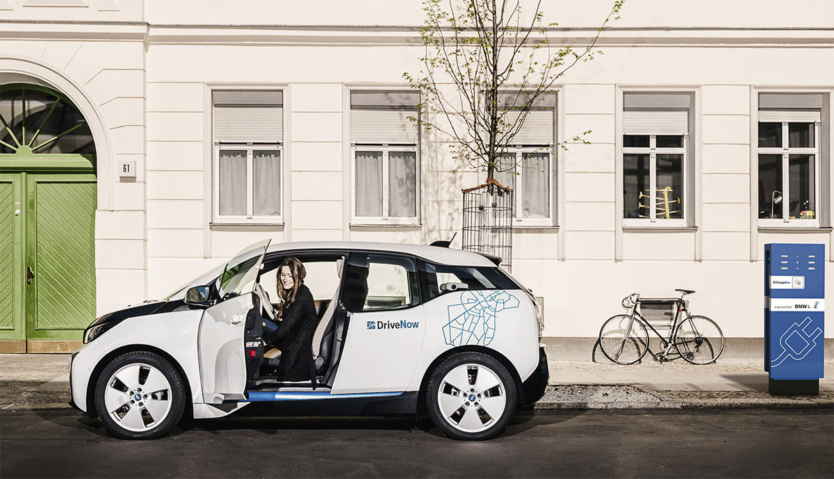 drivenow bringt elektroauto i3 ins rheinland