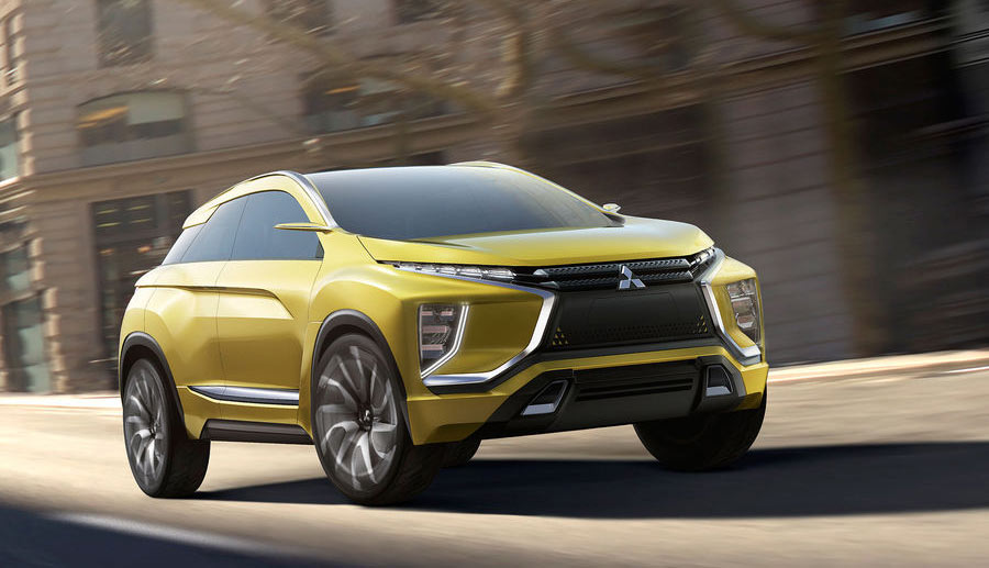 mitsubishi zeigt neue elektroauto-studie ex concept (bilder
