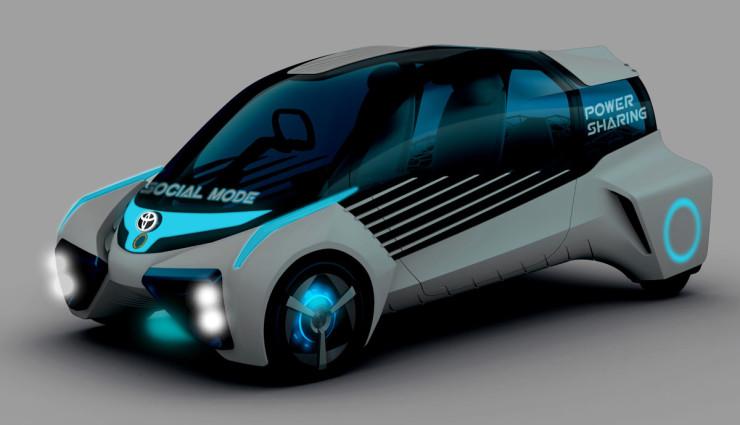 Toyota FCV-Plus Wasserstoff Elektroauto7