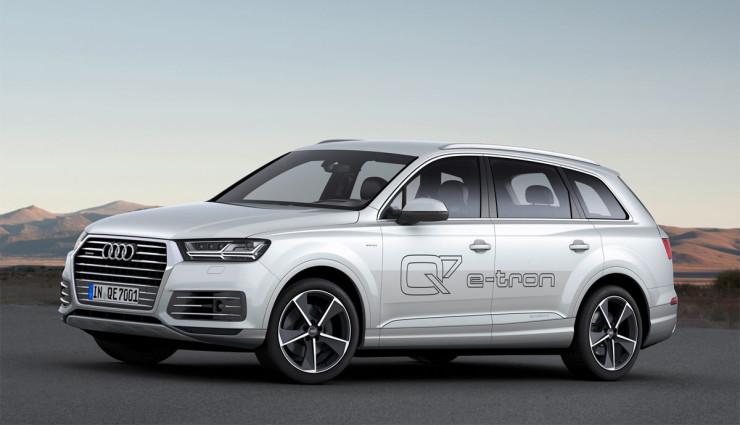 Audi Q7 e-tron Leistungsdaten1