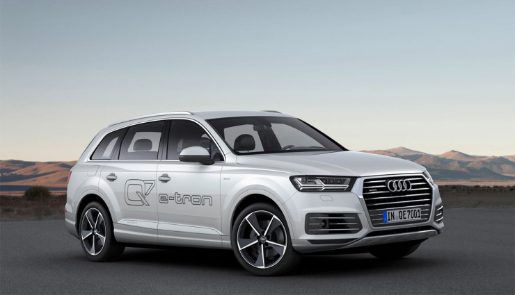 Audi Q7 e-tron Leistungsdaten7