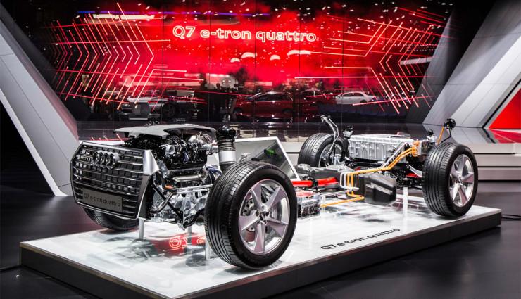 Audi Q7 e-tron Leistungsdaten8