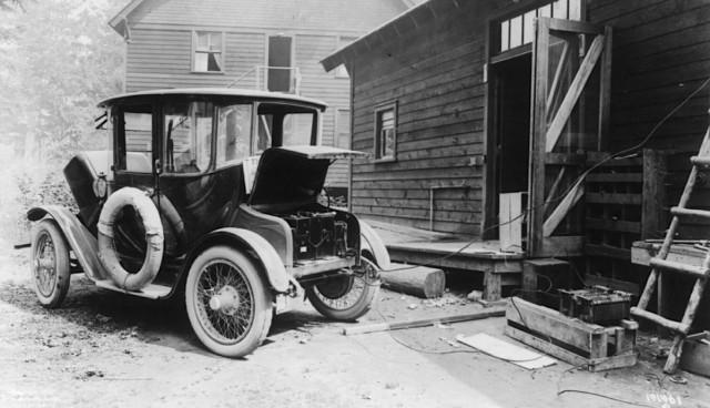 Elektroauto Geschichte Oldtimer