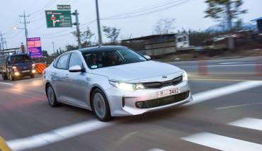 Kia Optima Plug-in Hybrid 11