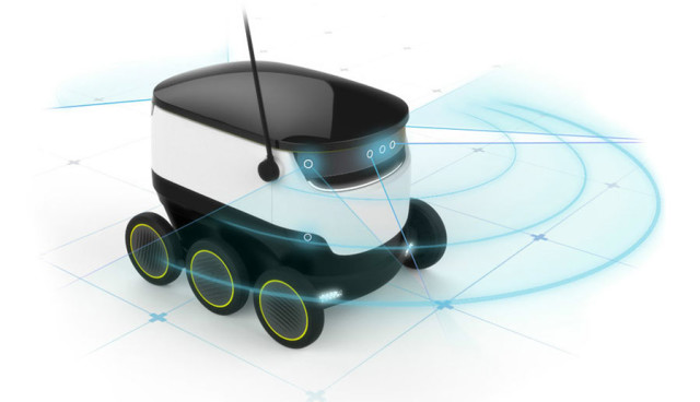 Starship-Liefer-Roboter-Elektro