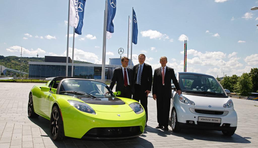Tesla-Mercedes-Diamler-Investment