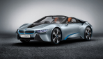 BMW i8 Spyder Plug-in-Hybrid-Sportwagen Serienversion1