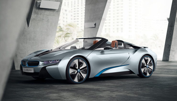 BMW i8 Spyder Plug-in-Hybrid-Sportwagen Serienversion15