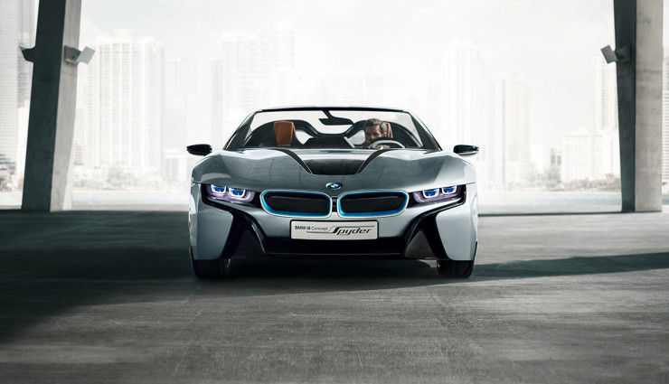 BMW i8 Spyder Plug-in-Hybrid-Sportwagen Serienversion18