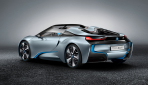 BMW i8 Spyder Plug-in-Hybrid-Sportwagen Serienversion2