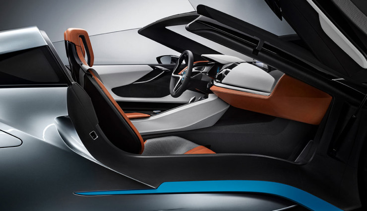 BMW i8 Spyder Plug-in-Hybrid-Sportwagen Serienversion3