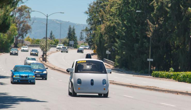 Google-Elektroauto