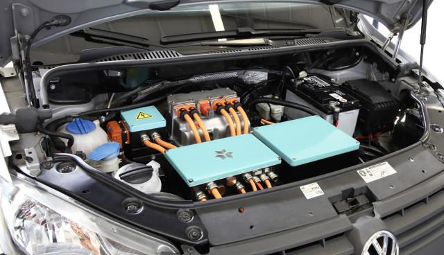 Kreisel-Elektroauto-Batterie