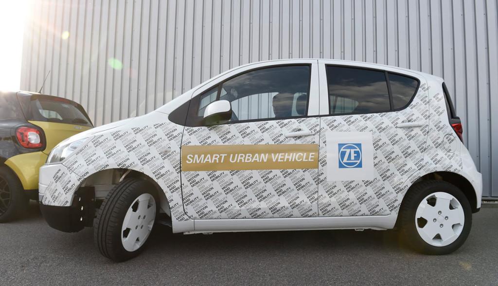 ZF Elektroauto Zulieferer
