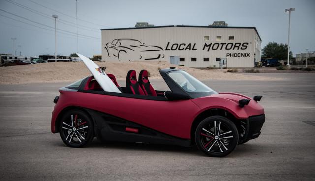 3D-Druck- Airbus beteiligt sich an Elektroauto-Start-up Local Motors
