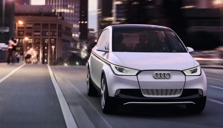 Audi Elektroauto A2 Kleinwagen