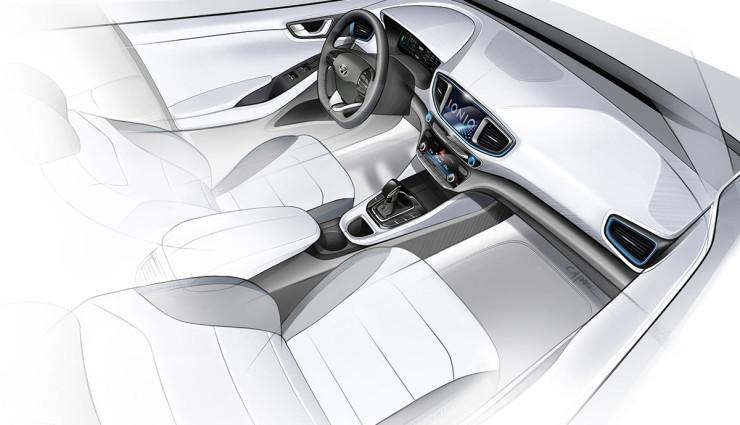 Hyundai Ioniq Elektroauto Bilder1