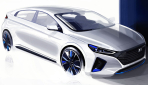 Hyundai Ioniq Elektroauto Bilder2