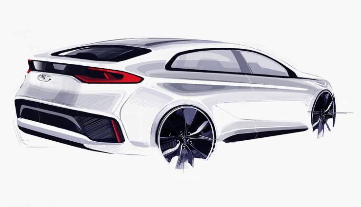 Hyundai Ioniq Elektroauto Bilder4