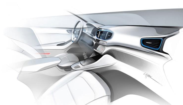 Hyundai Ioniq Elektroauto Bilder7