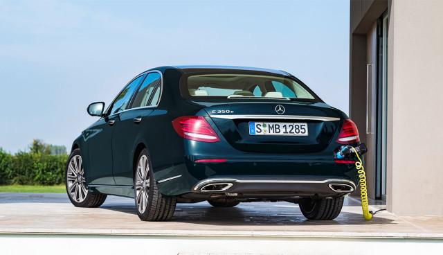 Mercedes präsentiert neue E-Klasse, auch als Plug-in-Hybrid (Bilder, Video)