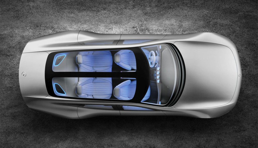 Mercedes Elektroauto Limousine 2018