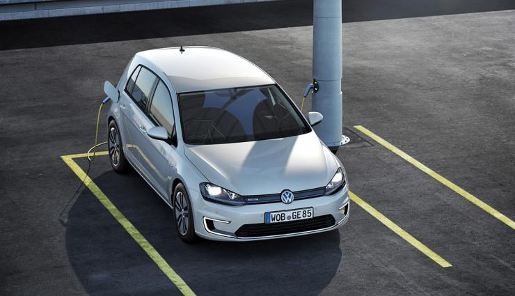 VW e-Golf Elektroauto Reichweite 30 Prozent mehr 250 km